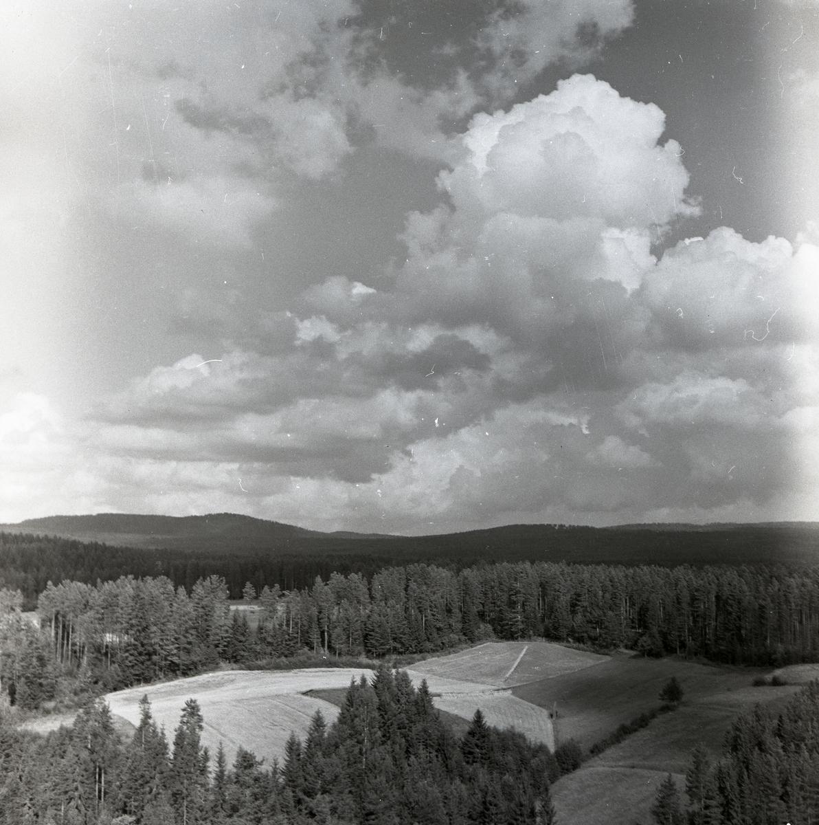 Utsikt från Lombergsgruvan, juli 1962.