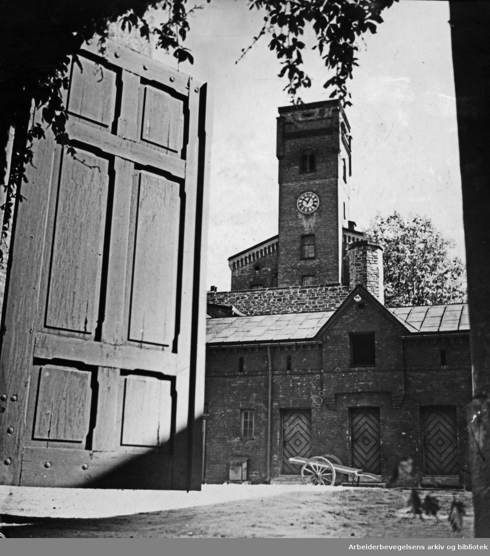 Botsfengslet. August 1949