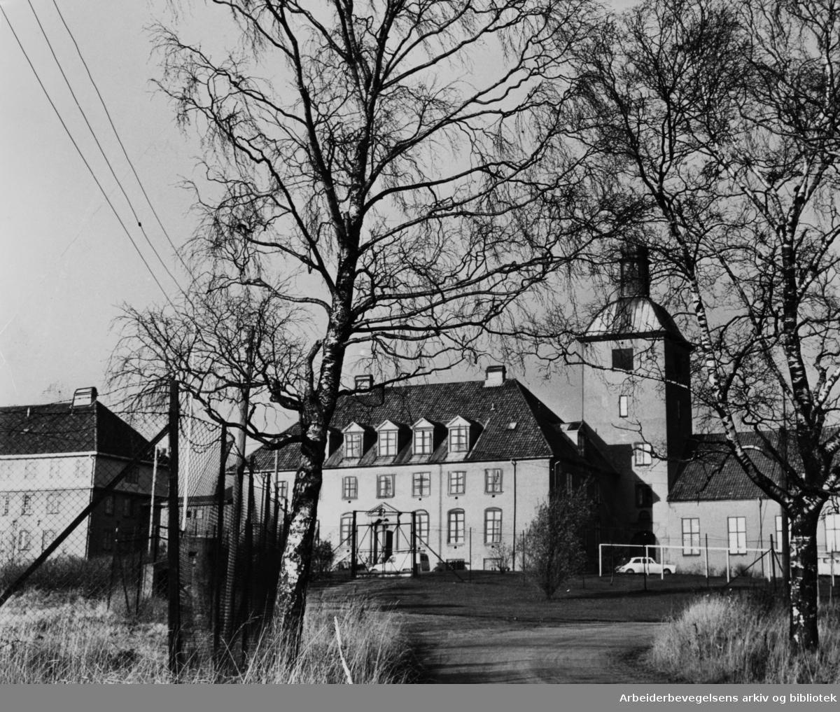 Bredtvet kvinnefengsel. November 1964