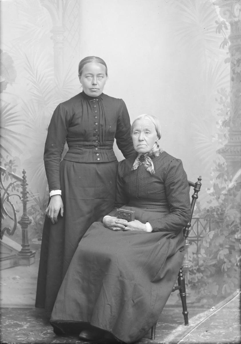 Portrett, Marit Sulengshaugen med datter
