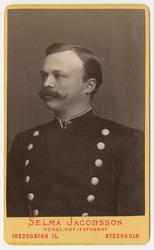 Porträtt av Johan Adolf Stånggren, underlöjtnant vid Första
