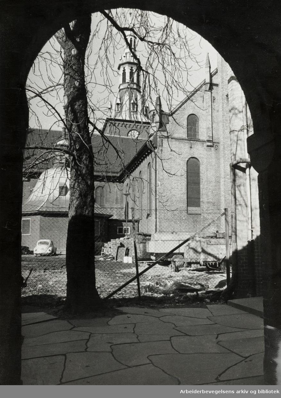 Domkirken. Juli 1975