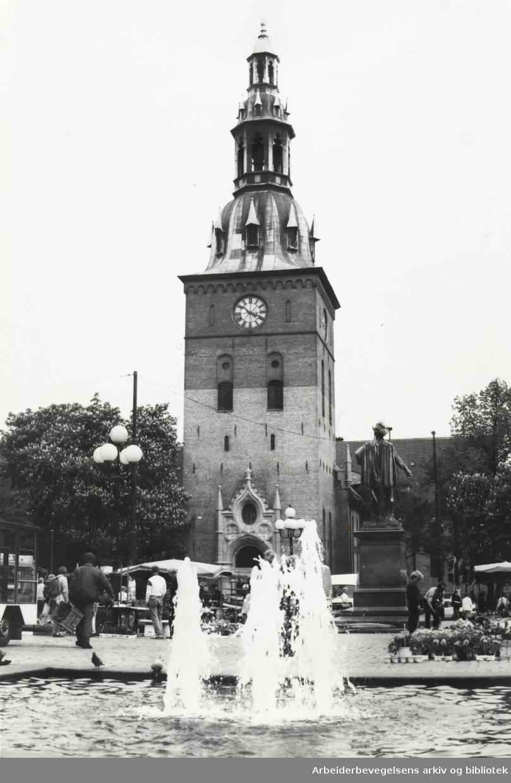 Domkirken. Juni 1993