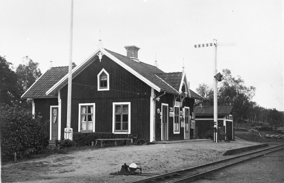 Fridhemsberg station.