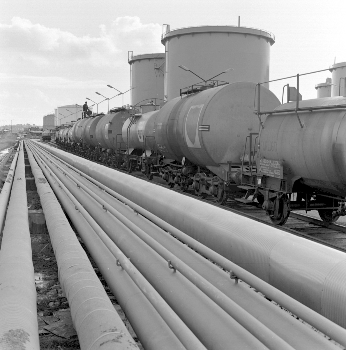 Oljetransporter, BP. Oljeledningar