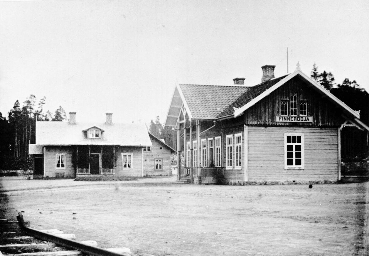 Finnerödja station.