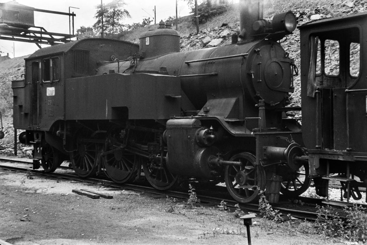 Damplokomotiv type 32a nr. 290 i Lodalen i Oslo.