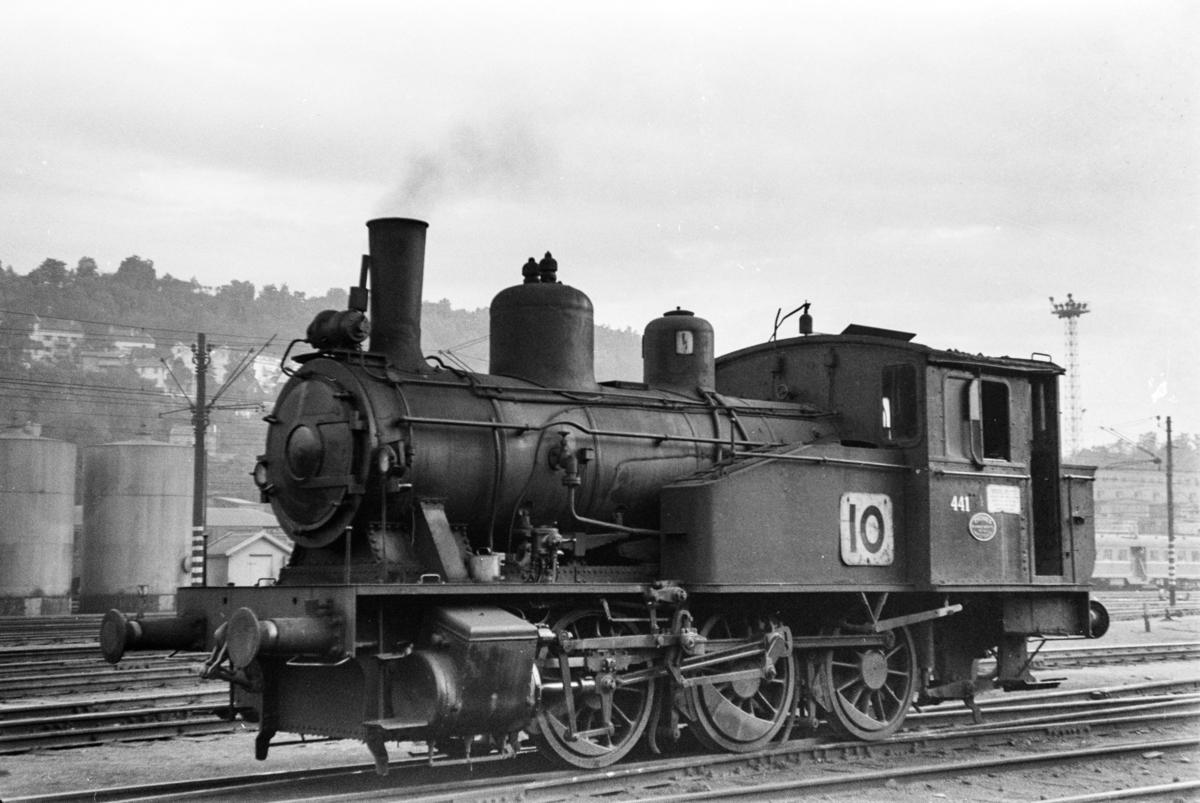 Damplokomotiv type 23b nr. 441 i Lodalen i Oslo.