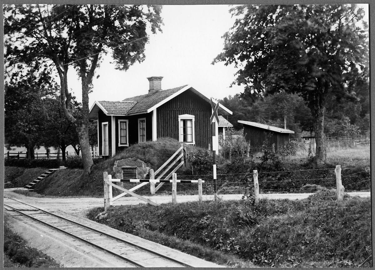 Rössle (Rödsle) banvaktstuga på linjen mellan Jenny och Verkebäck.