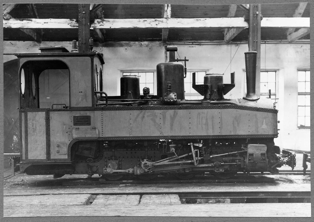 Munkedals Järnväg, MJ lok 3. Loket har fått en genomgång innan leveransen till Munkedals Järnväg.