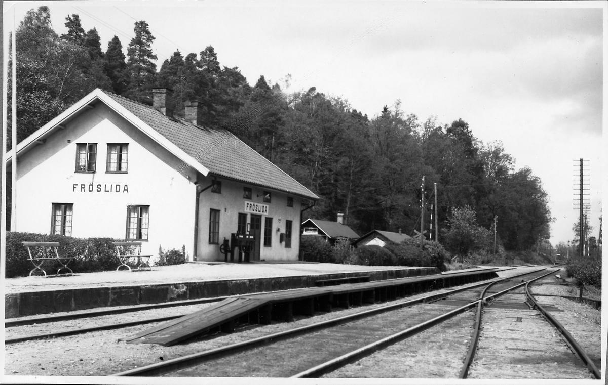 Fröslida station.