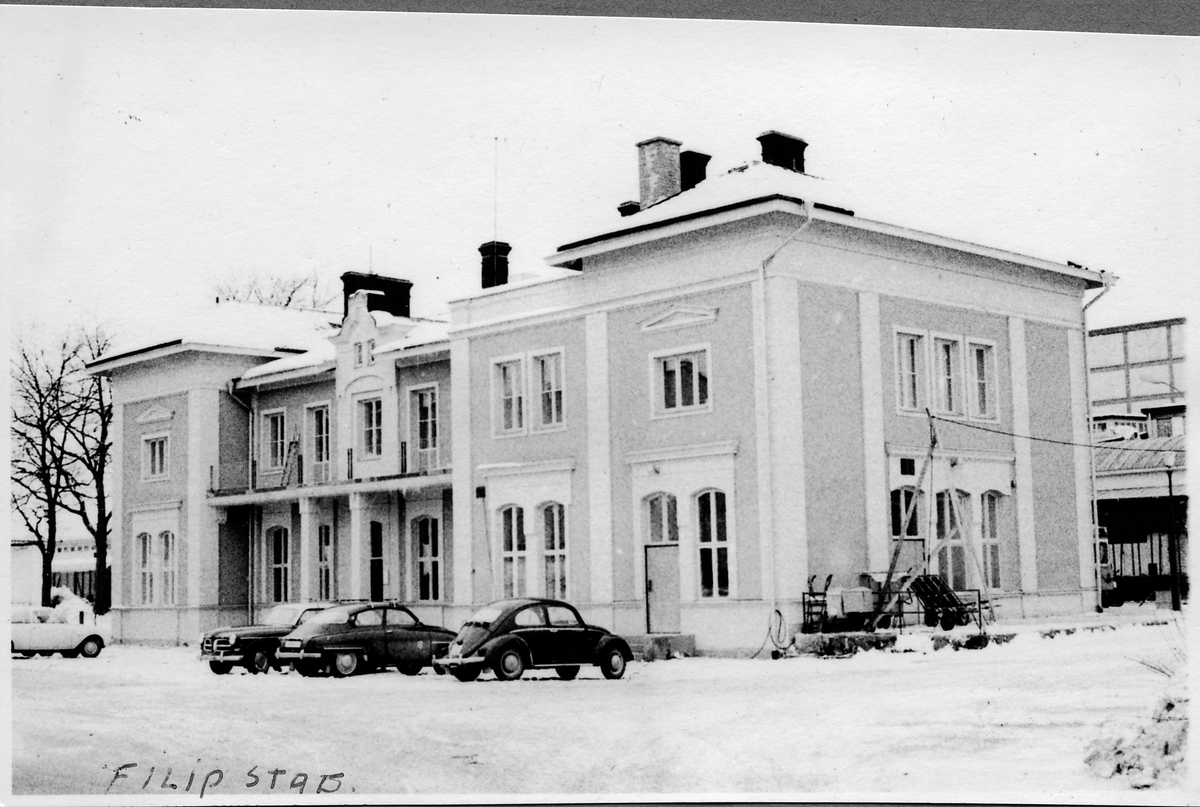 Stationen i Filipstad.