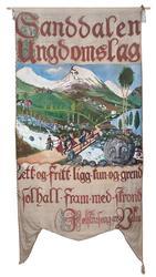 Fane Sanddalen ungdomslag [Maleri]