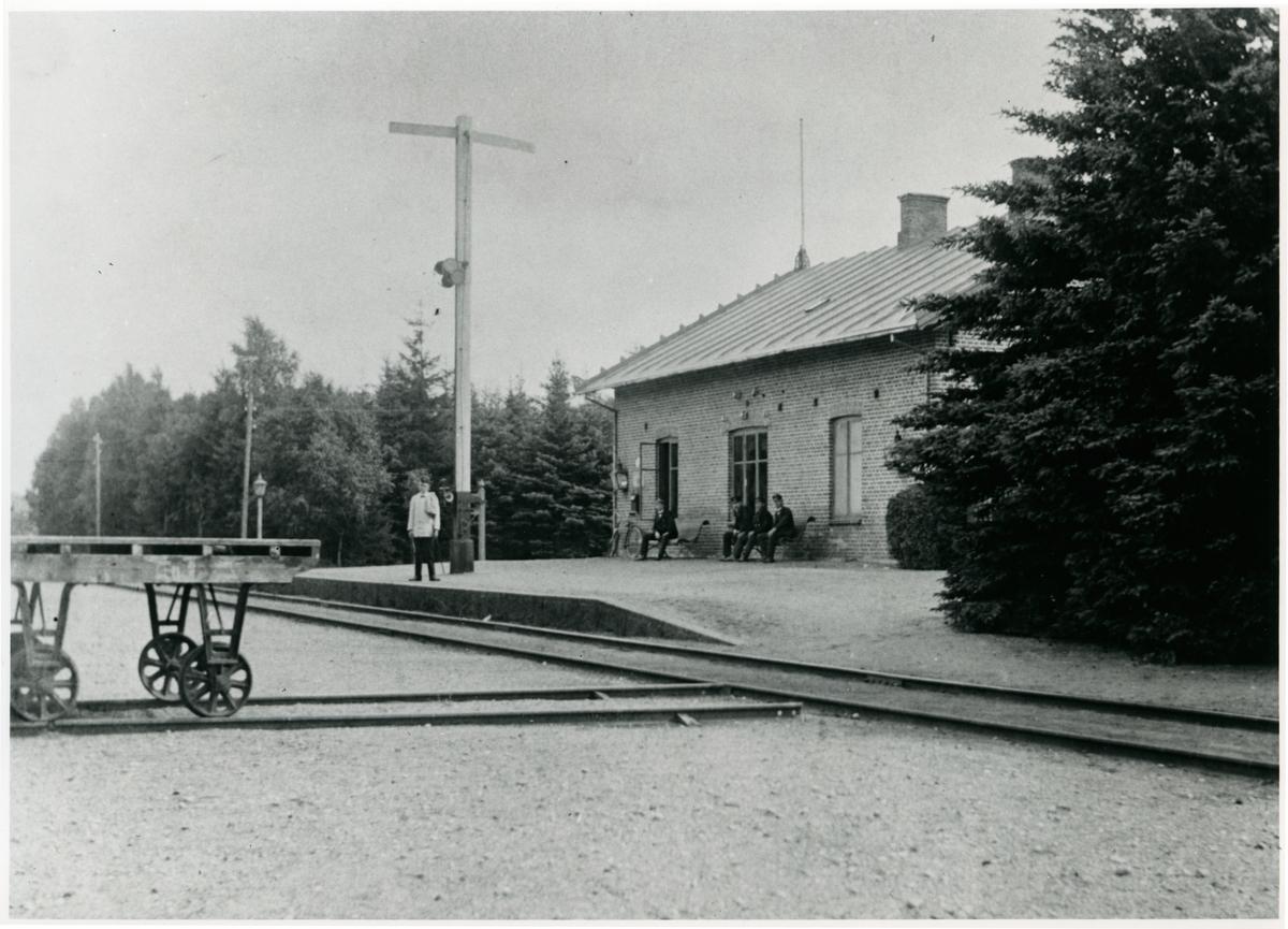 Sövdeborg station. Malmö - Tomelilla Järnväg, MöToJ.