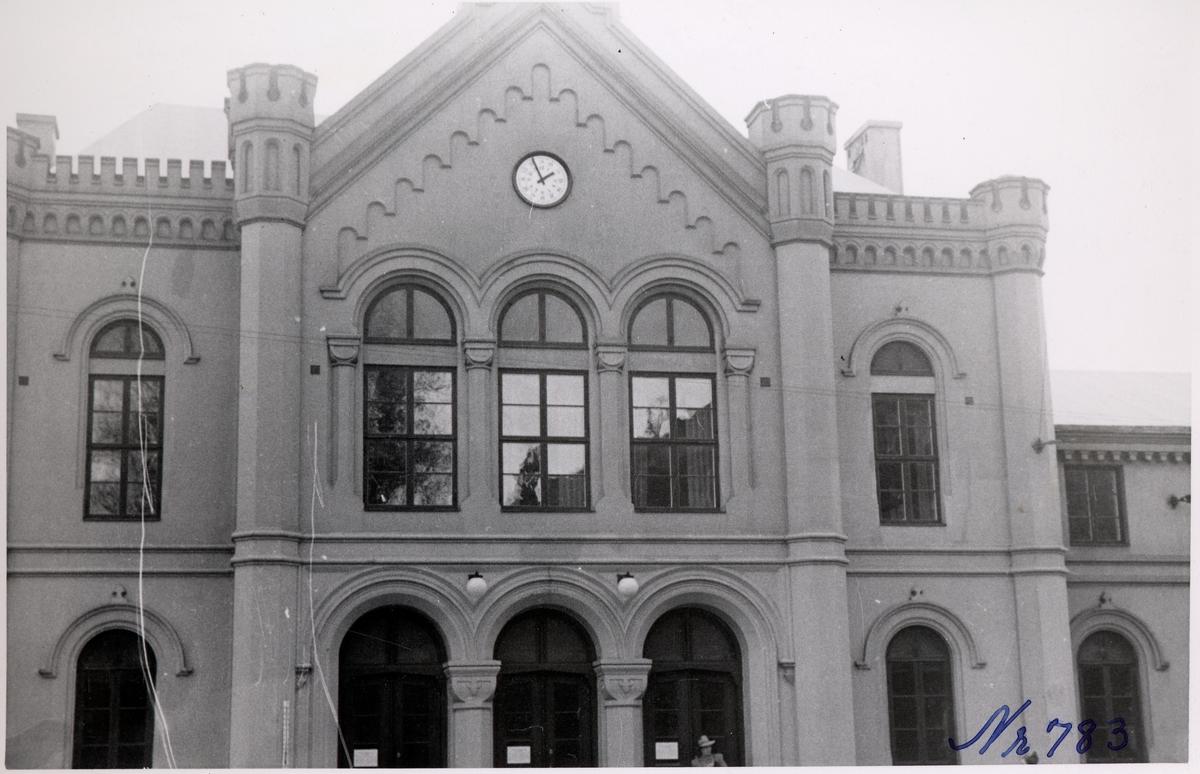 Helsingborg Central, stationshus sedd från gatusidan