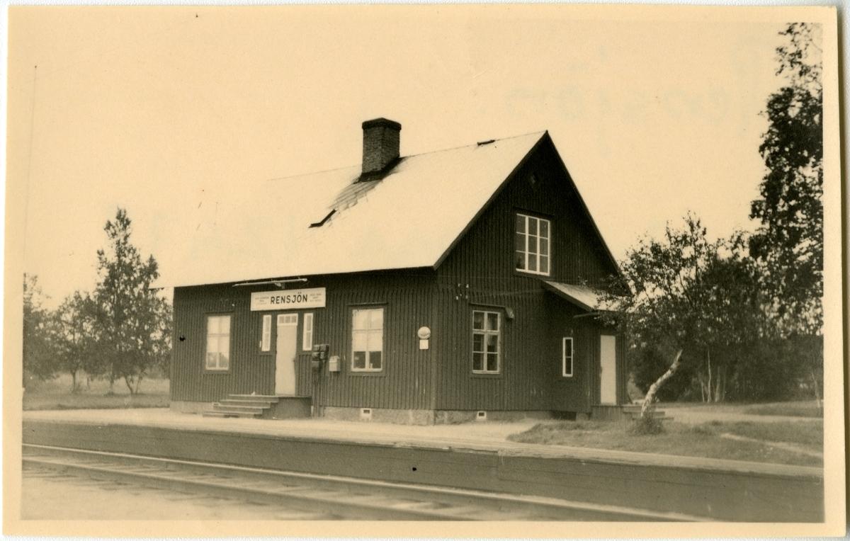 Rensjöns station