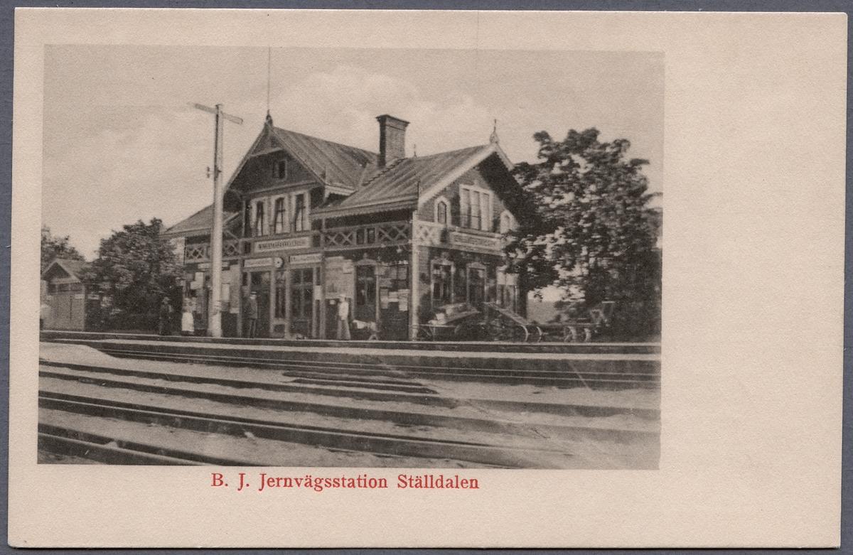 Ställdalen Station