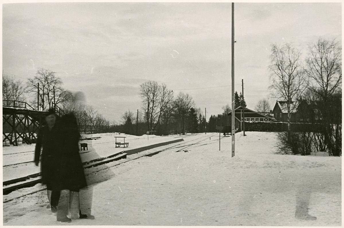 Inför elektrifieringen i Stålboga.