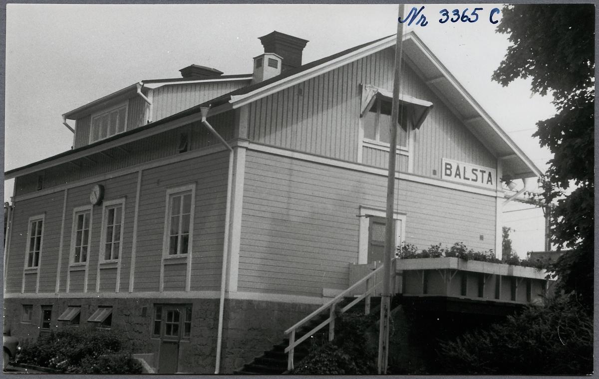 Bålsta station.
