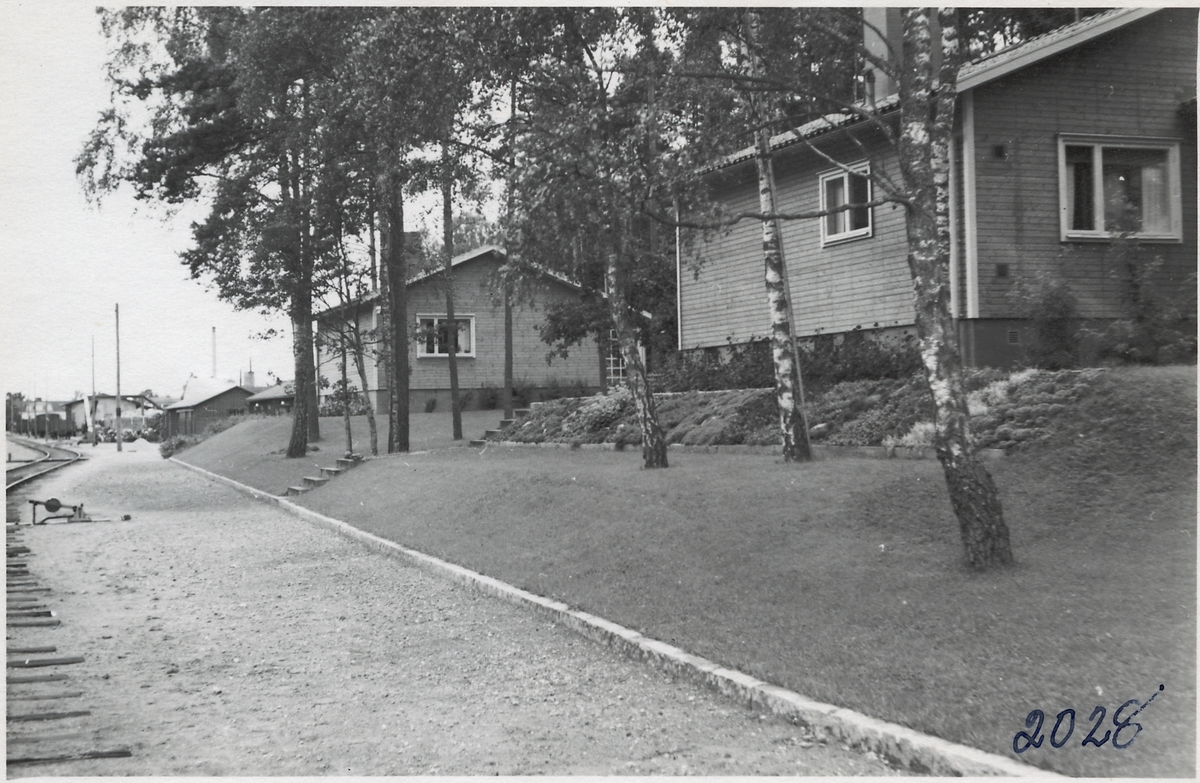 Tjänstebostadshus, Glimåkra. Bostadshus 9A-9B.