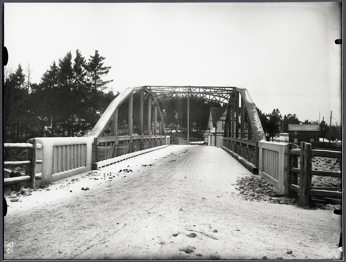 Vägbro vid Järna.