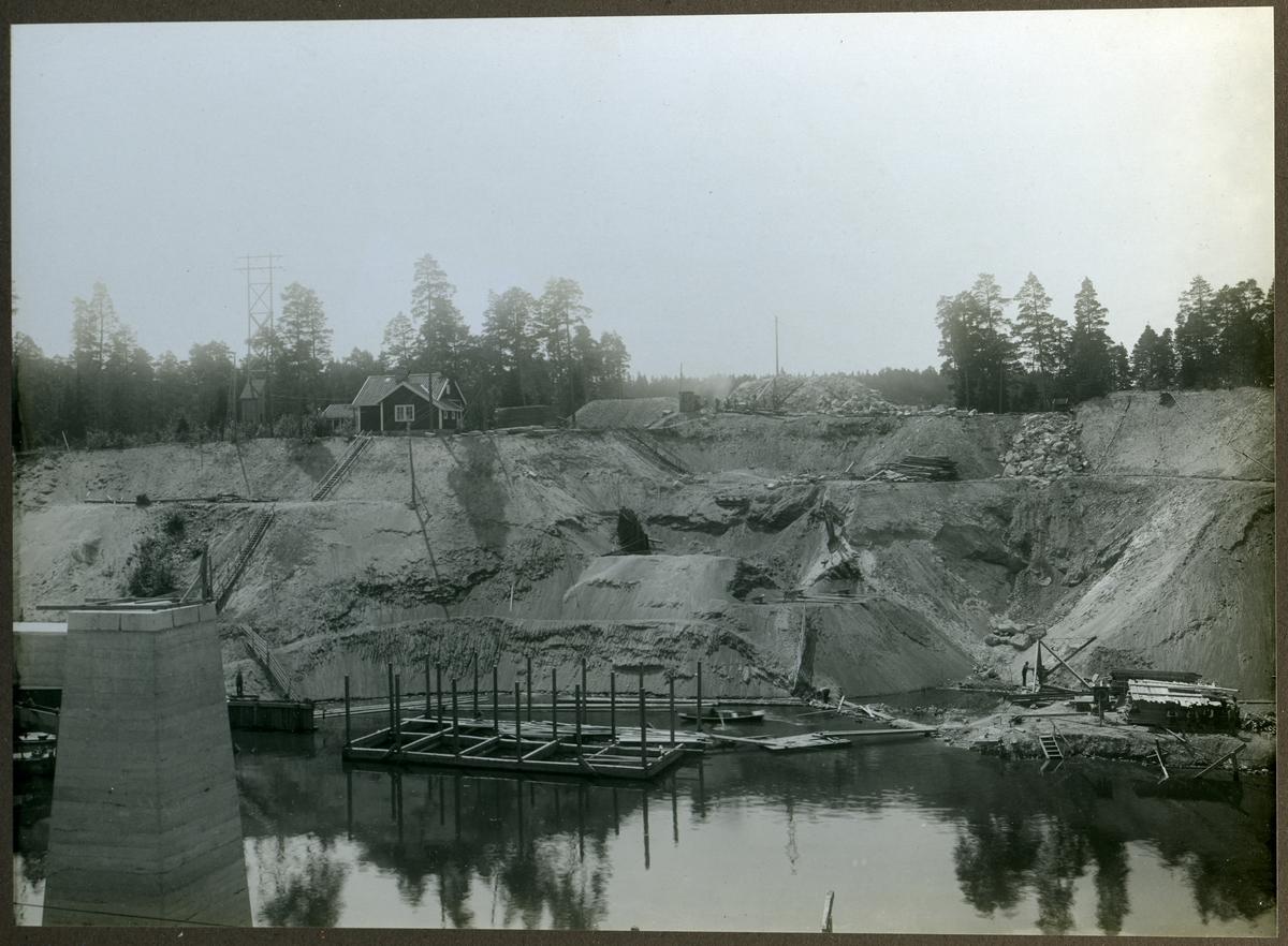 Södertälje kanal Brofundament