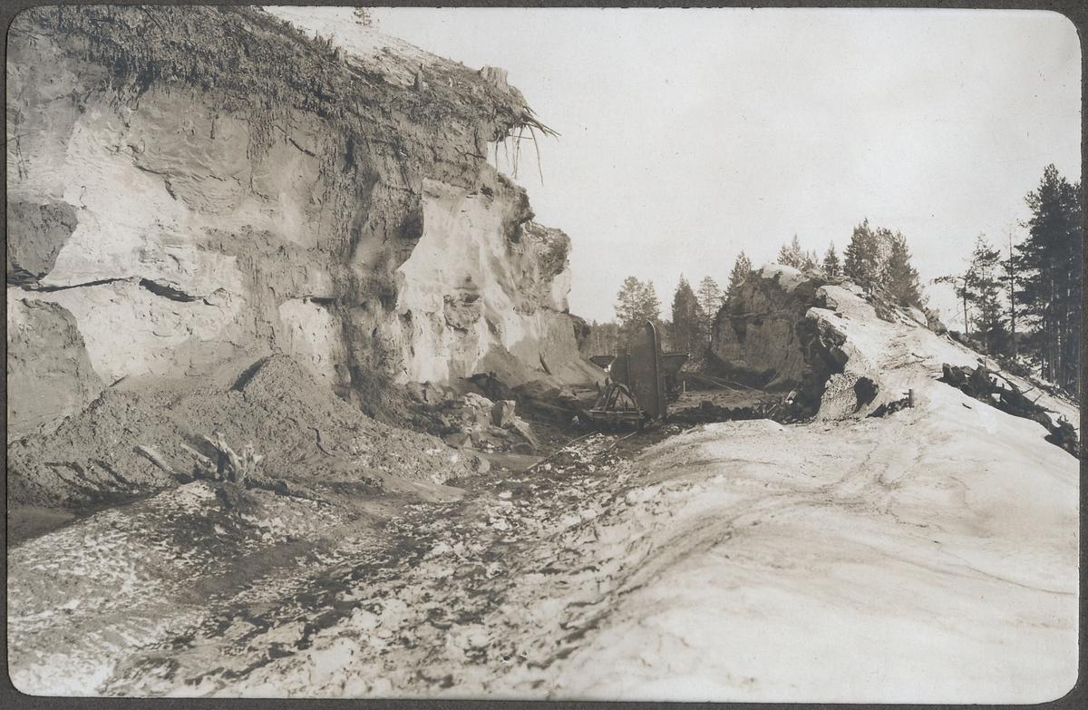 Vy över Skärning kilometer den 30 maj 1922.