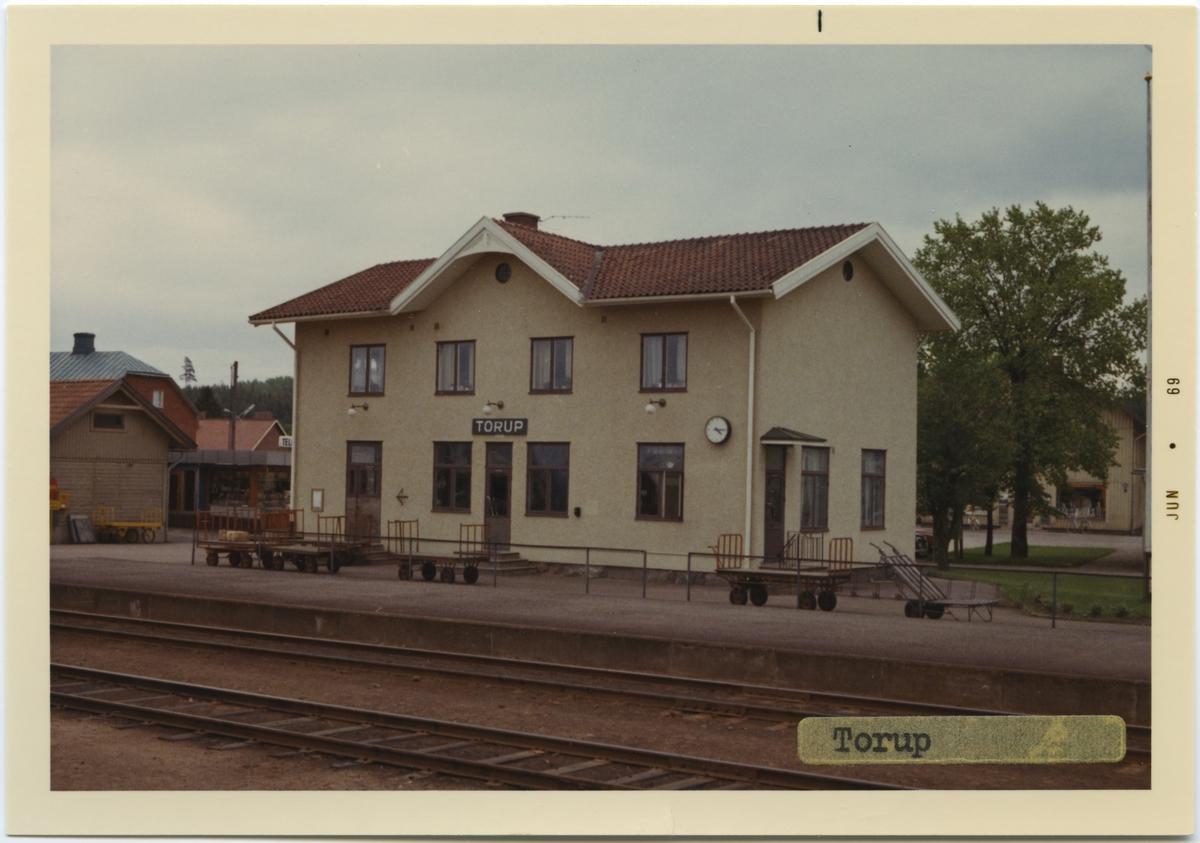 Torup station, byggd år 1878