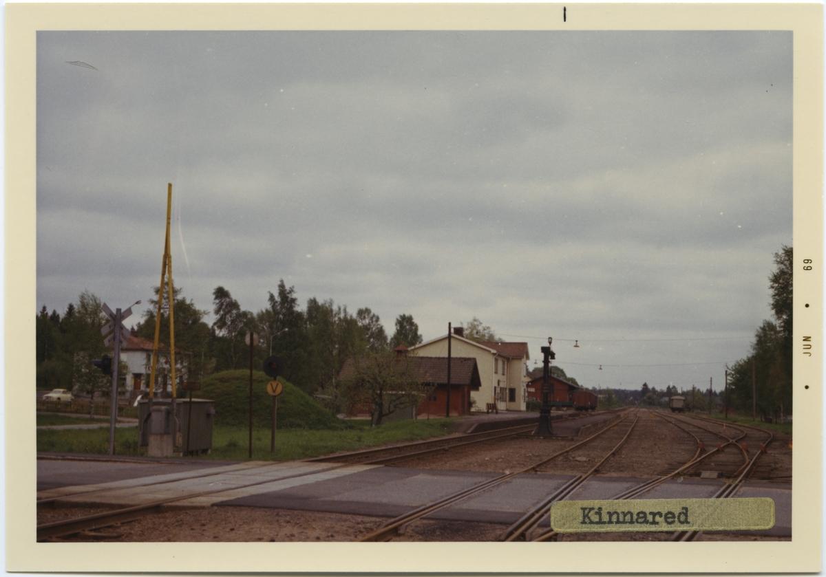 Kinnared station, byggd år 1878