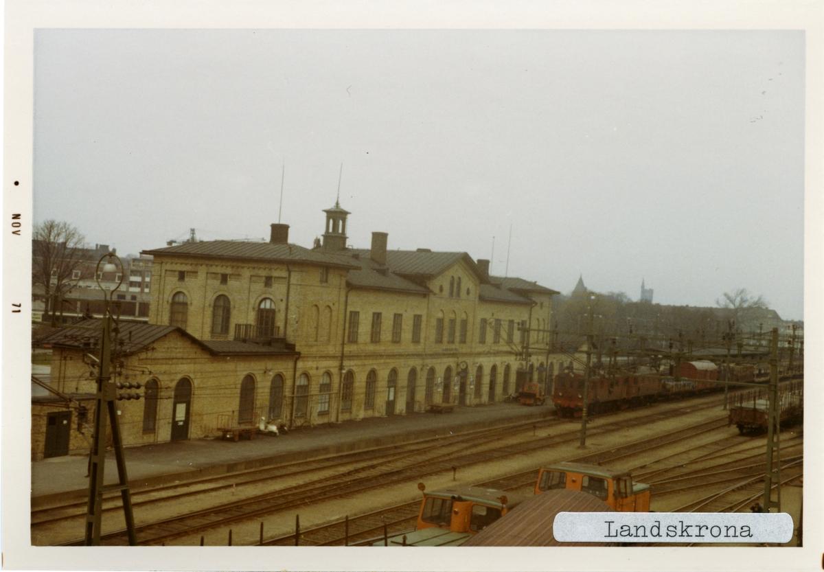 Landskrona station.