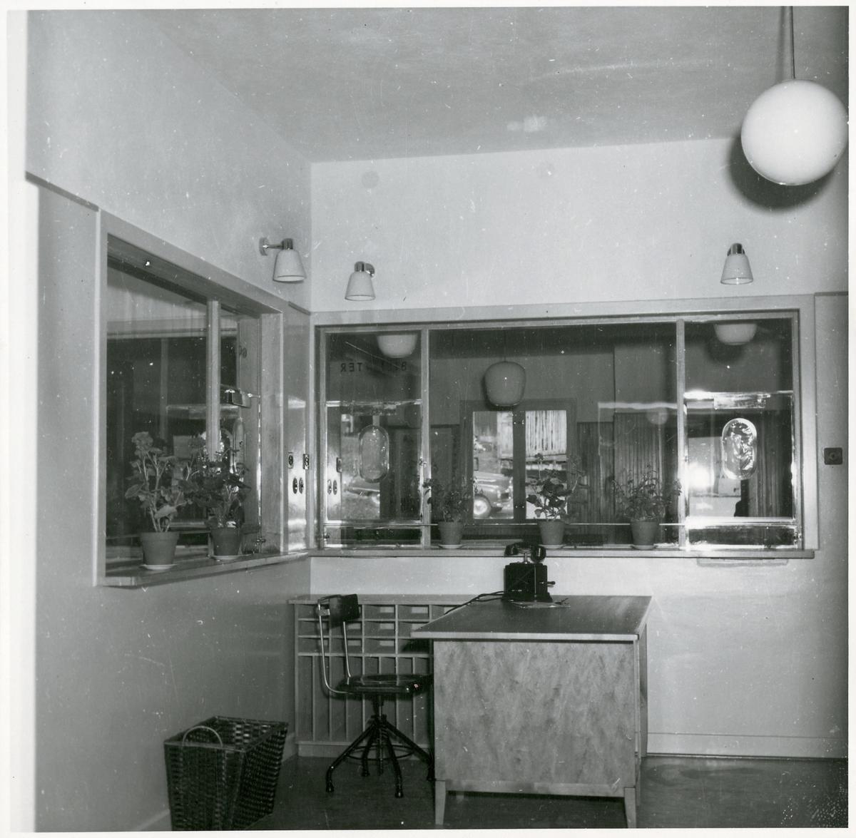 Biljettkontor, Funäsdalens busstation.