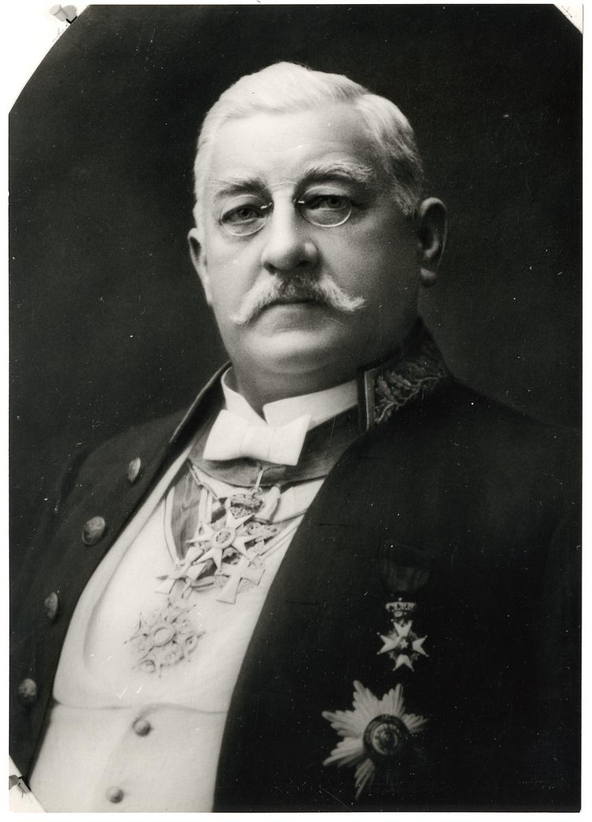 Överdirektör Victor Leonard Klemming.