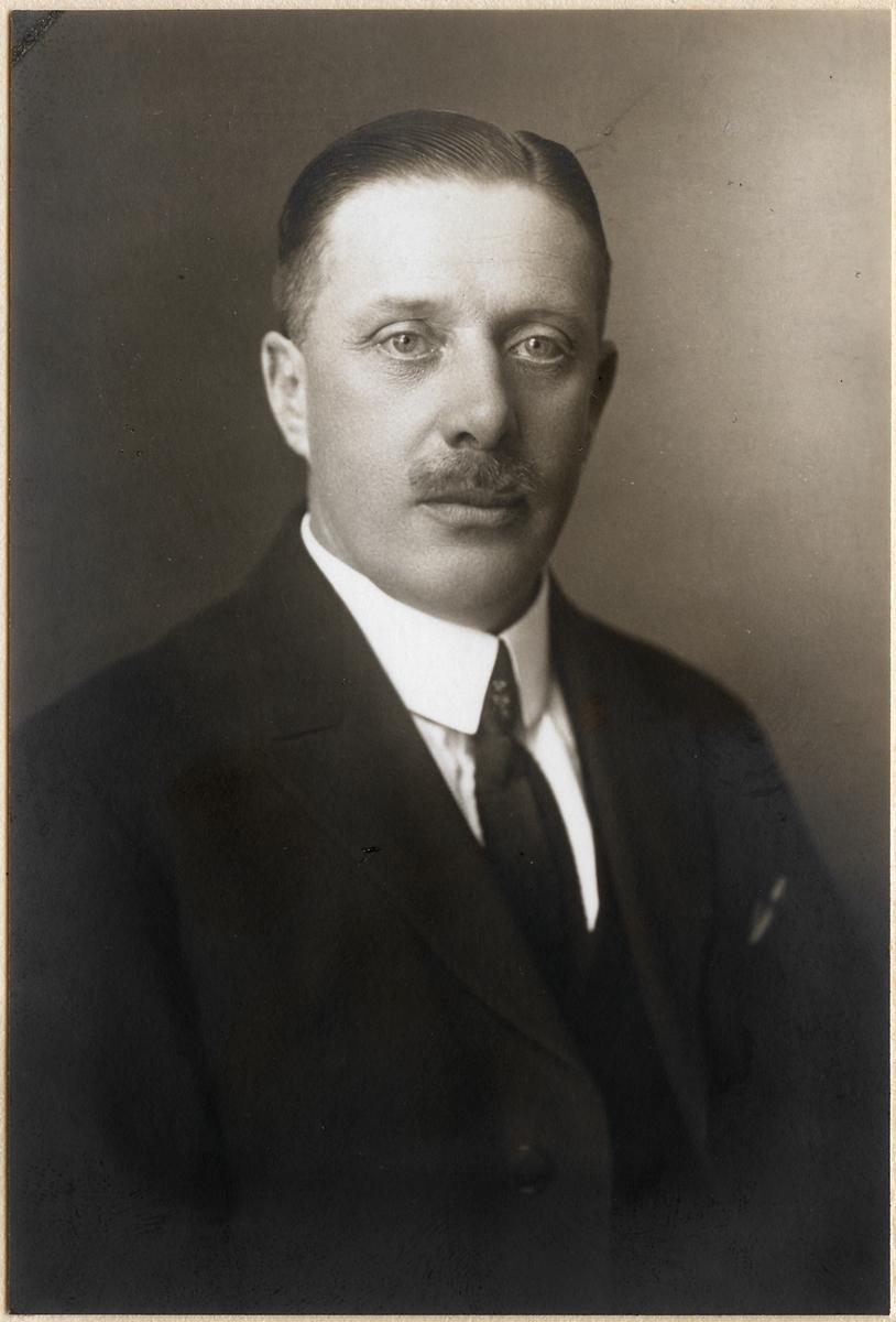Maskiningenjör Harald Westerdal.