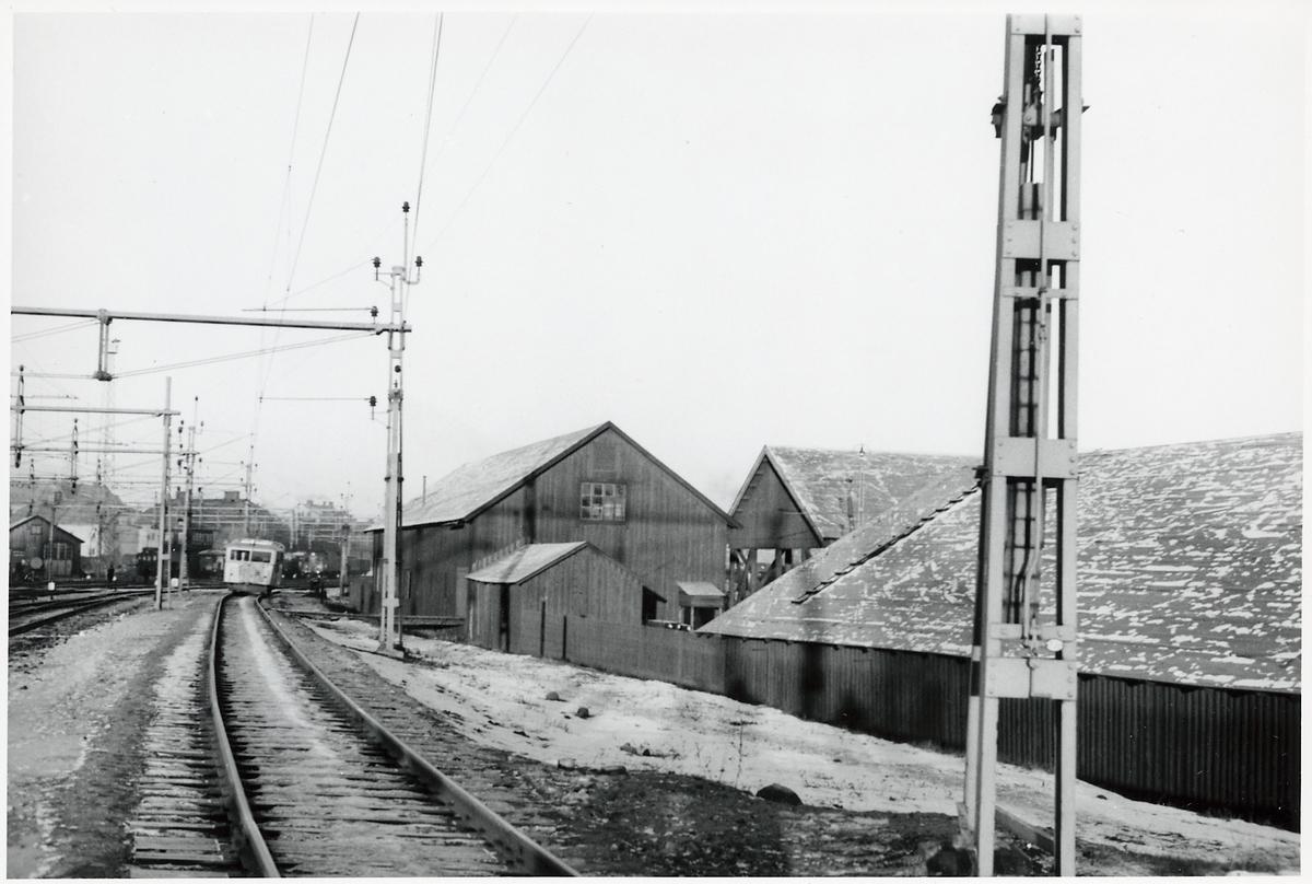 På linjen mellan Svartön och Luleå.
