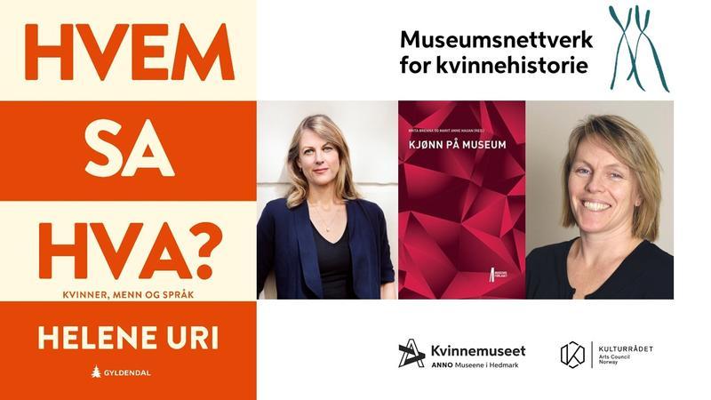 Plakat - møte i museumsnettverk for kvinnehistorie