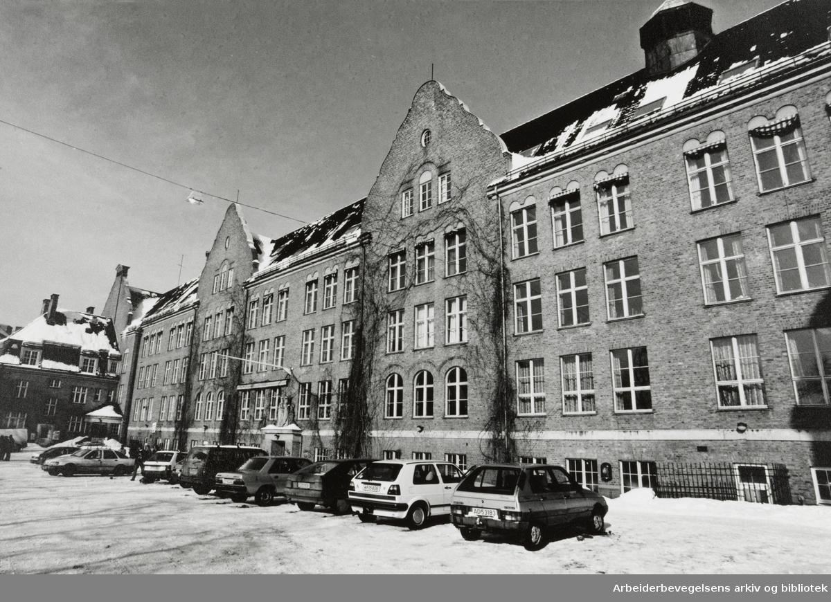 Fagerborg skole. 5. mars 1994