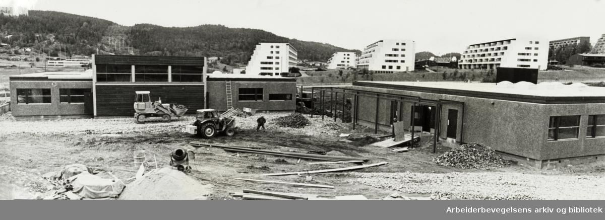 Fossum grendeskole. August 1976