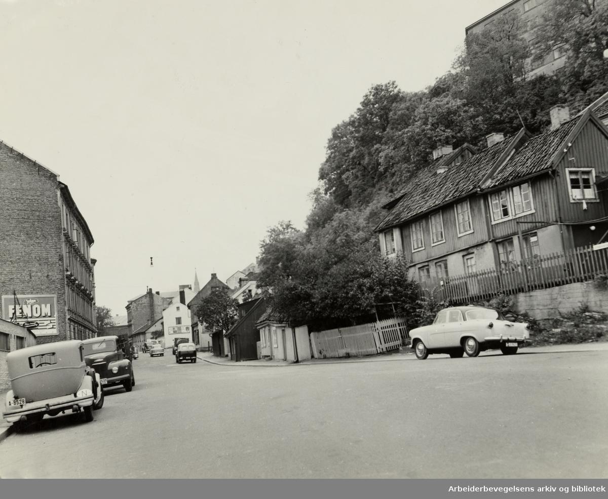 Fredensborgveien. 1956 -1959