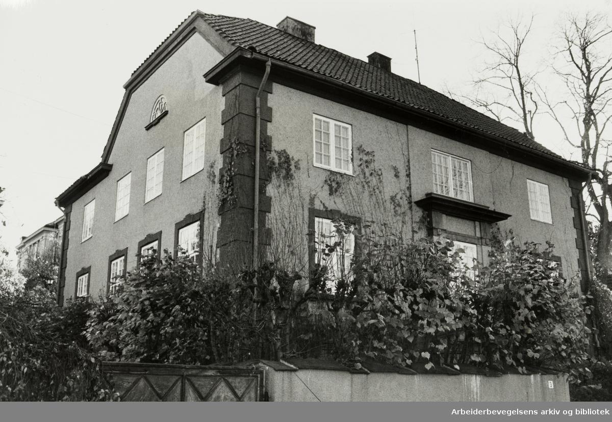 Frogner. Aaserud Holding A/S. Oktober 1978