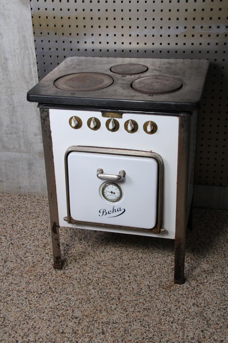 Elektrisk komfyr, BEHA type 2650