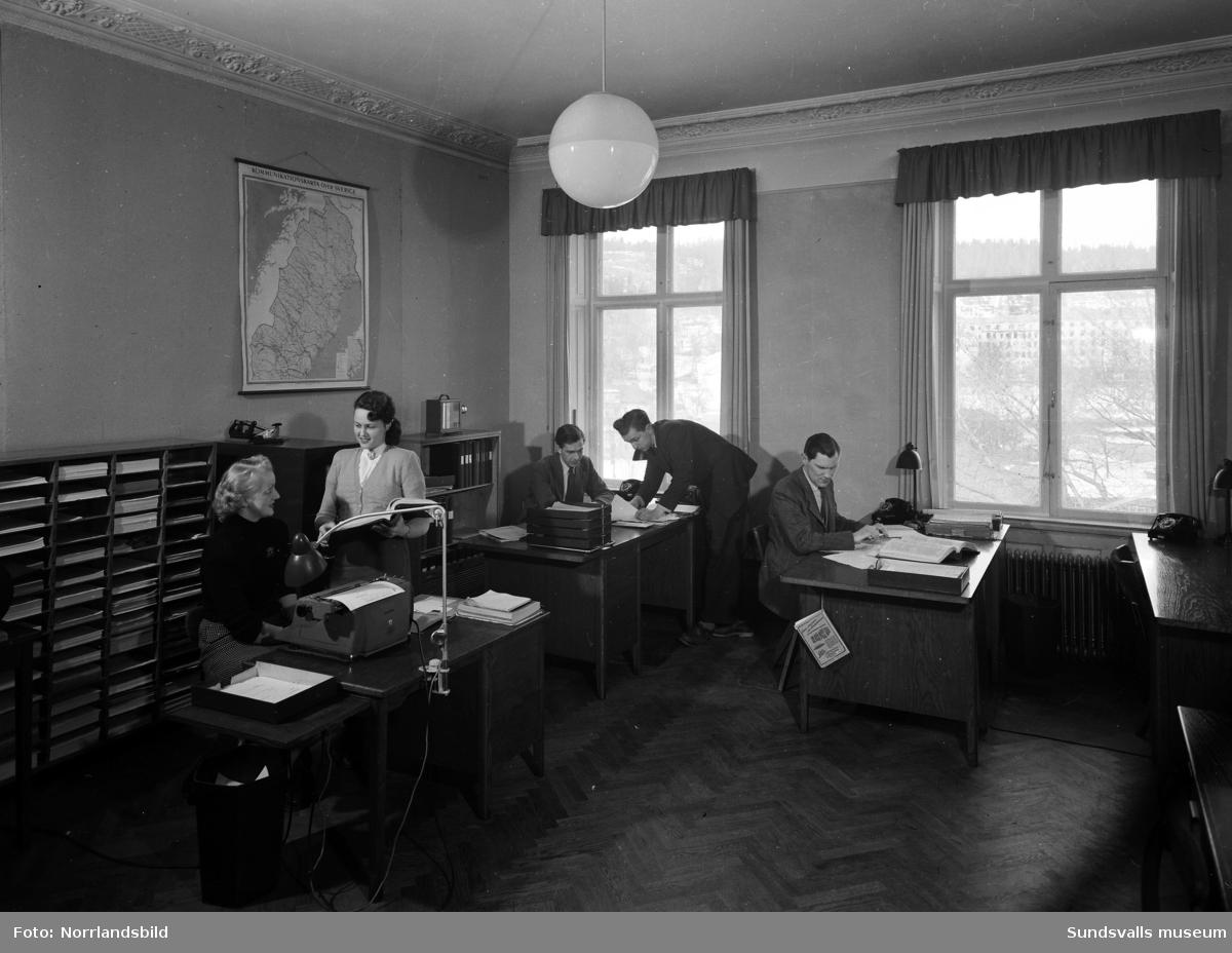 Svenska Fläktfabrikens kontorslokaler på Sjögatan.