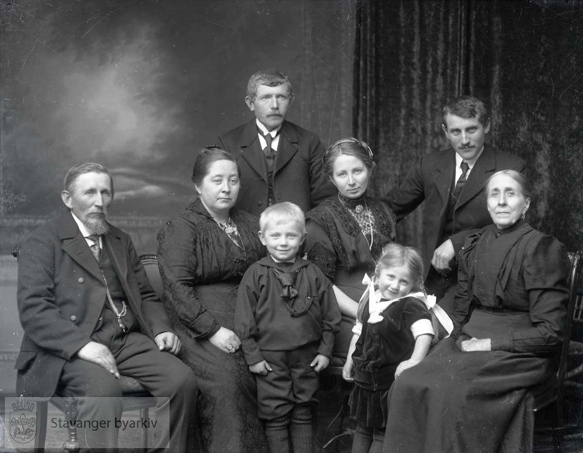 Familien Bore var fra Klepp