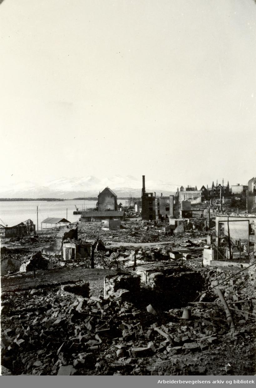 Krigen i Norge 1940 - 1945. Bombingen i Molde 1940