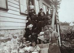 Fra tur til Tau, juli 1897