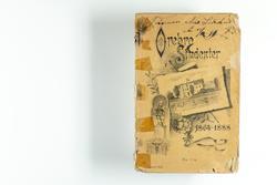 """En katalog """"Örebro studenter 1864-1888"""" vid Karolinska lärov"""
