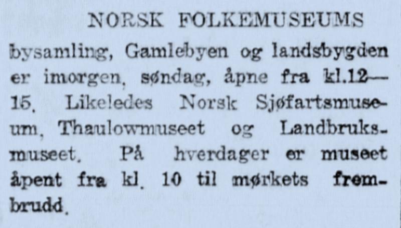 Morgenbladet 1932