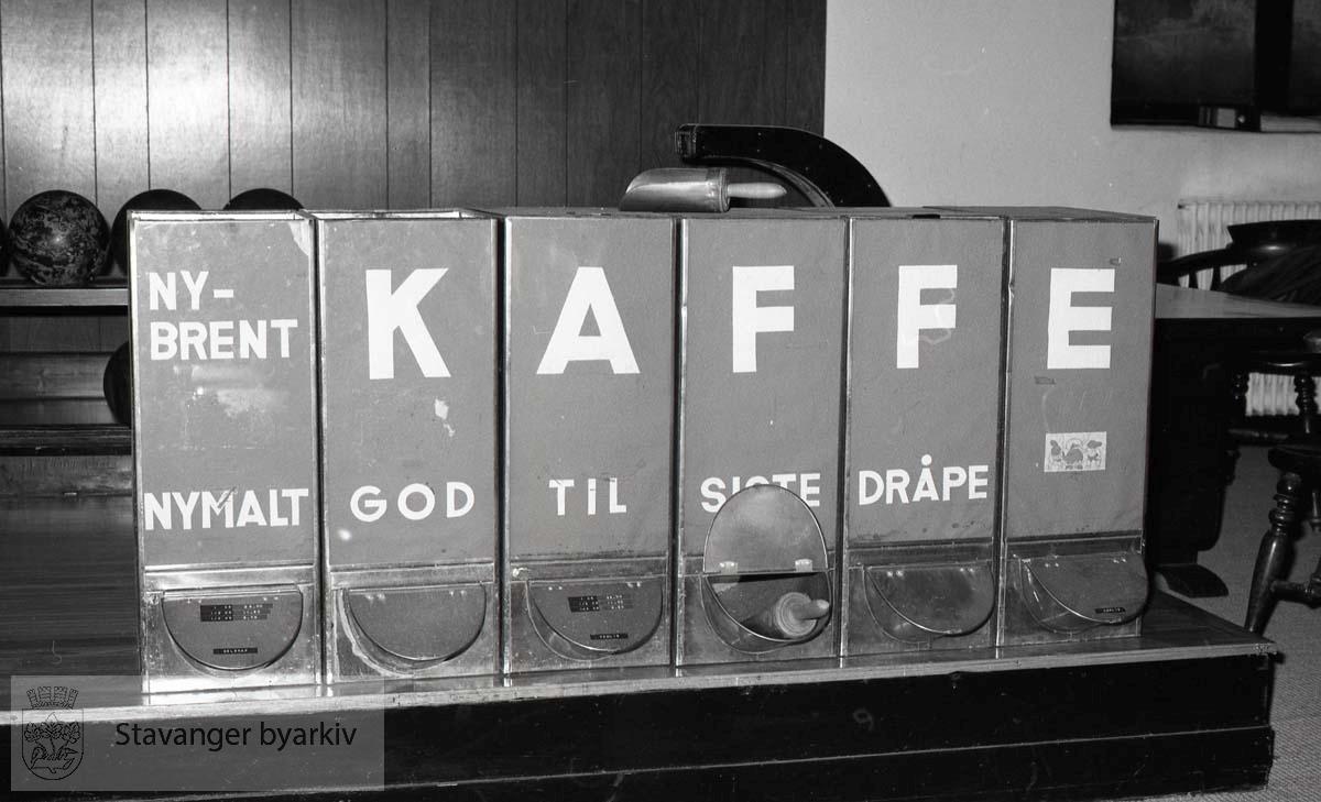 Kaffebokser fra Leversen
