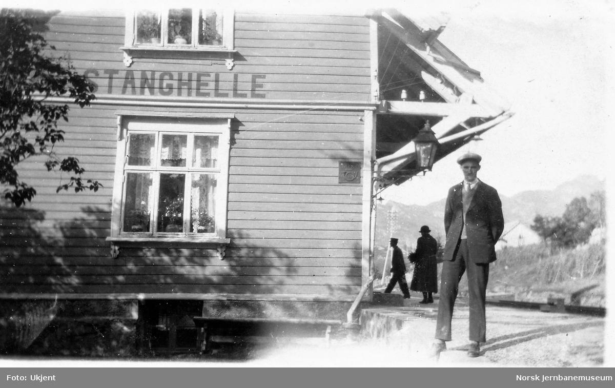 Stanghelle stasjon.