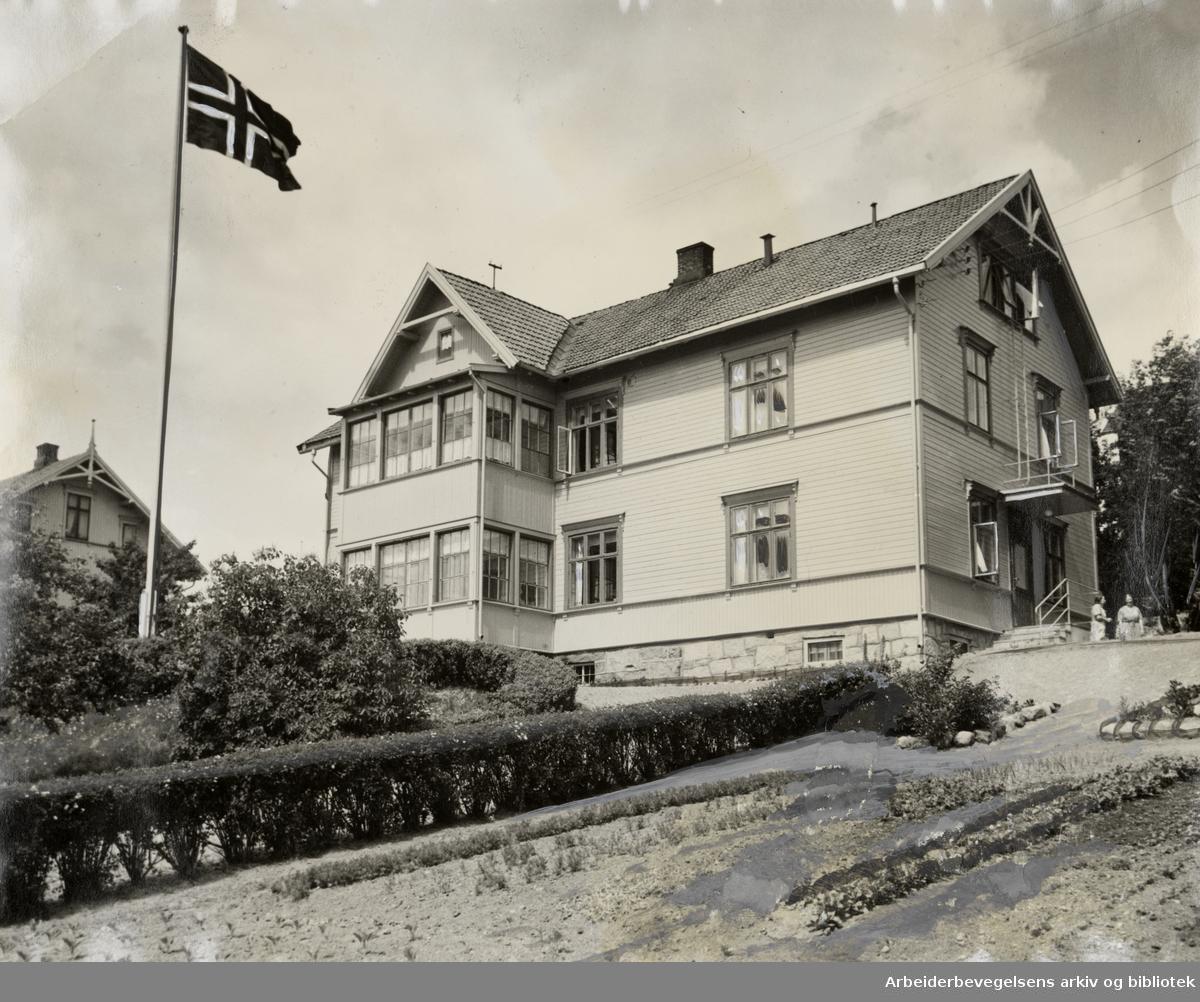 Gry Mødrehjem i Grefsenveien. Juni 1938