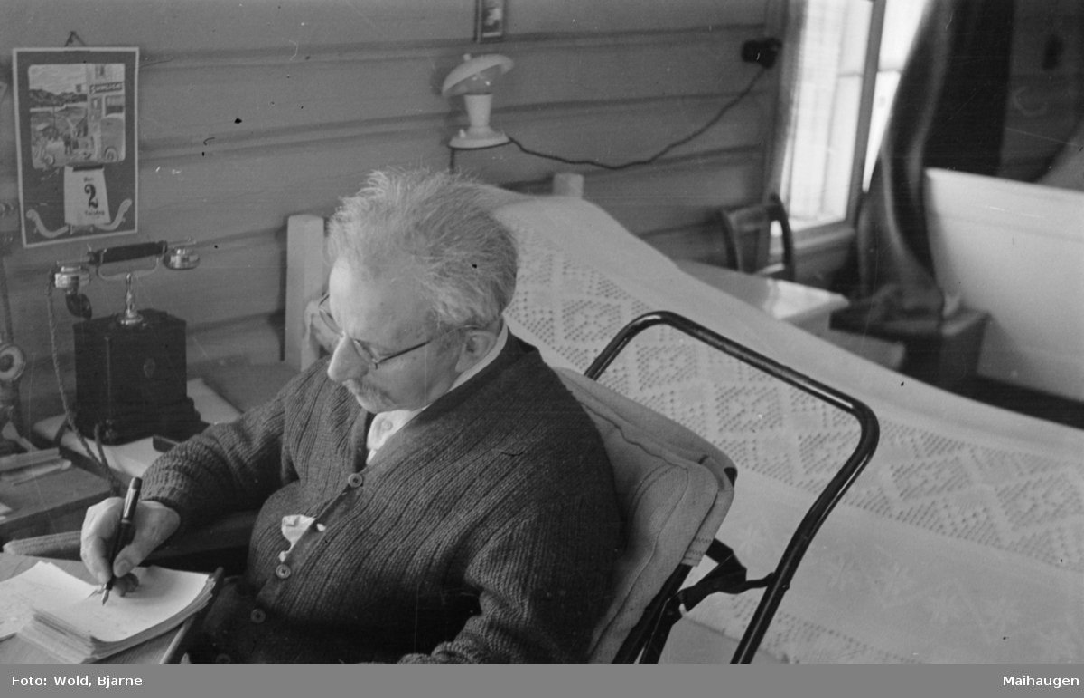 Ivar Wold (senior) i rullestol